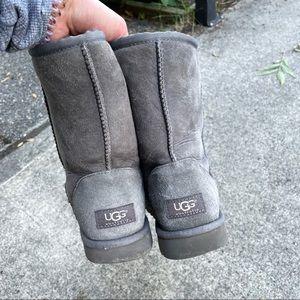 Authentic grey uggs size 7